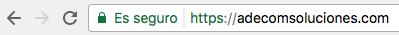 Sitio Seguro SSL HTTPS