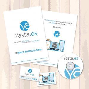 Identidad Corporativa Yasta.es | Adecom Soluciones