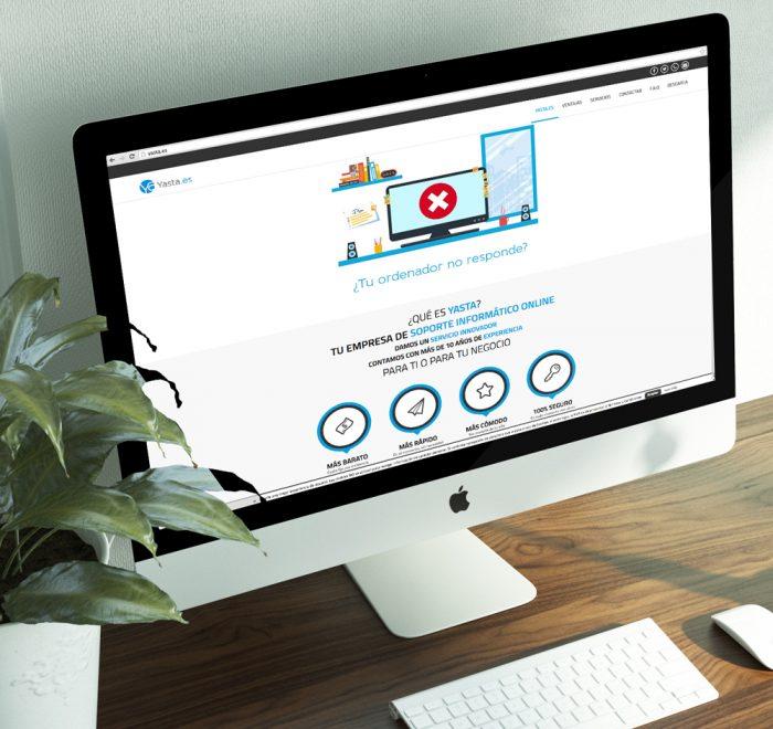 Diseño web Yasta.es