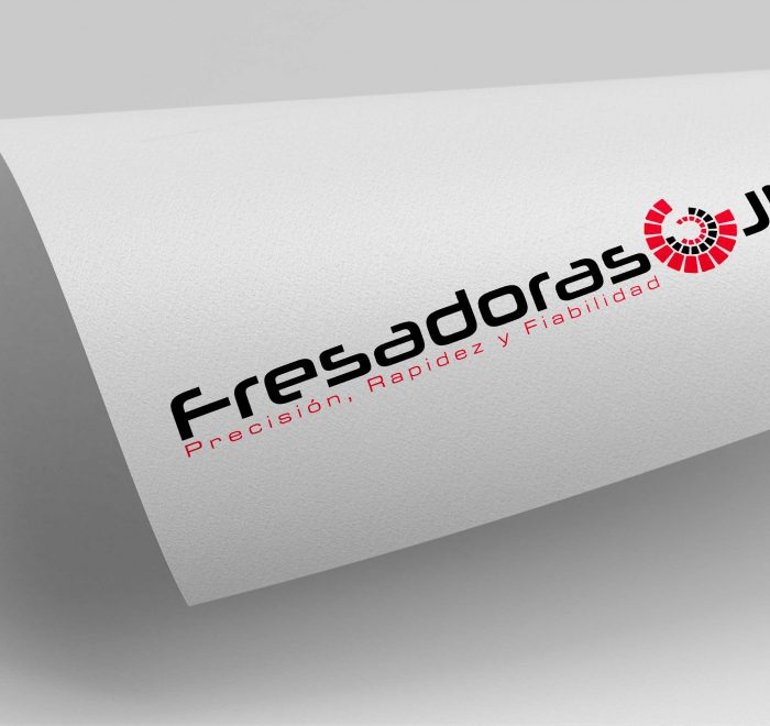Diseño logotipo fresadoras jm
